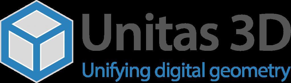 Unitas3D Logo with Mission Statement